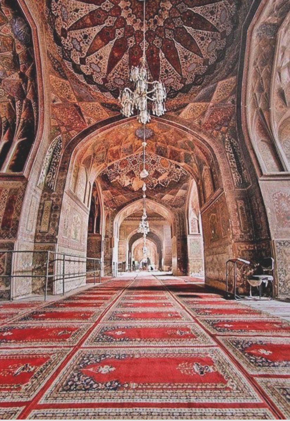 Wazir Khan Mosque Pakistan Beautiful Mosques Art And Architecture Mosque
