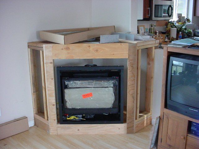 Prefab and Gas fireplace