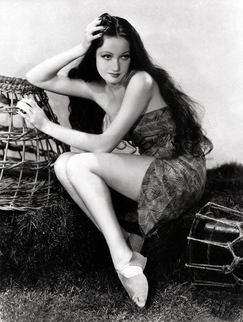 Dorothy Lamour, 1938.