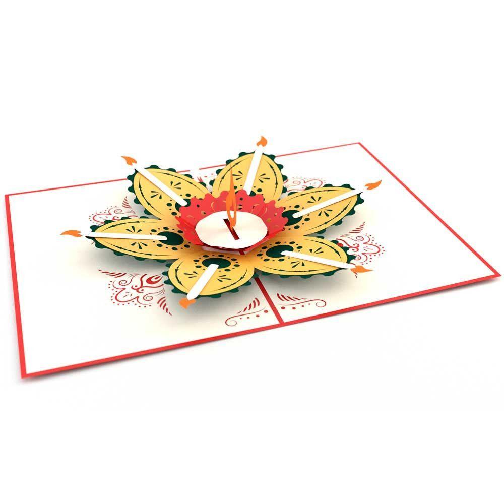 Diwali In 2021 Pop Up Cards Cards Diwali