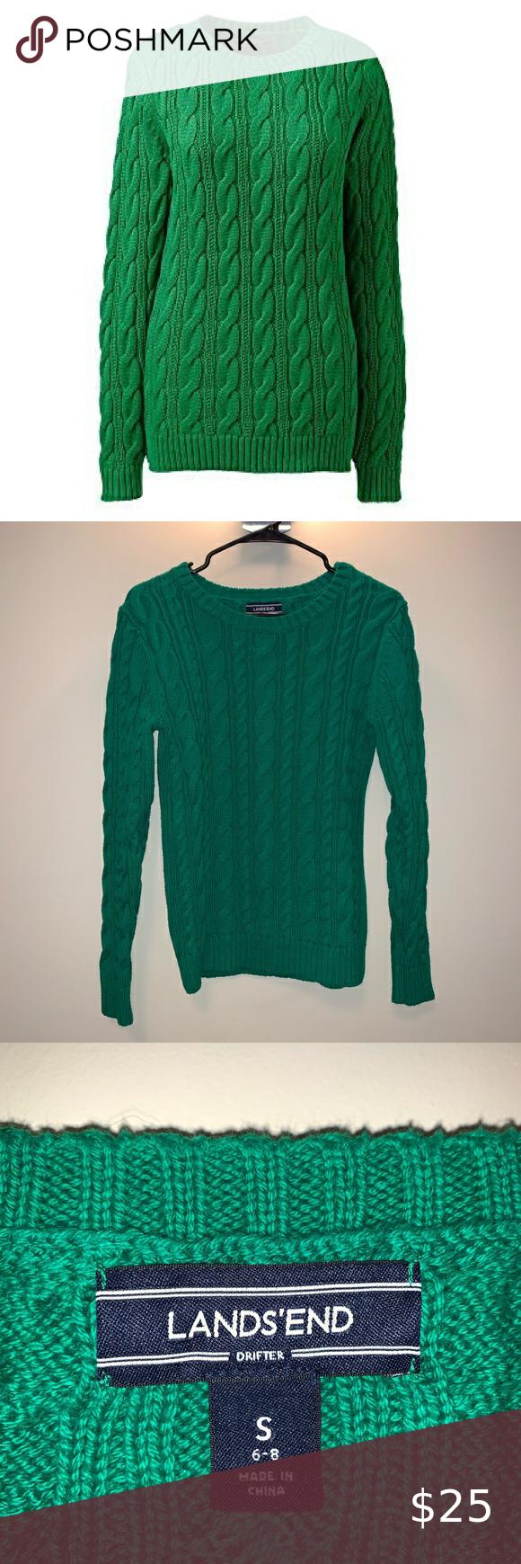 Lands End Sweatshirt In 2020 Sweatshirts Sweatshirts Women Sweatshirt Tops [ 1740 x 580 Pixel ]