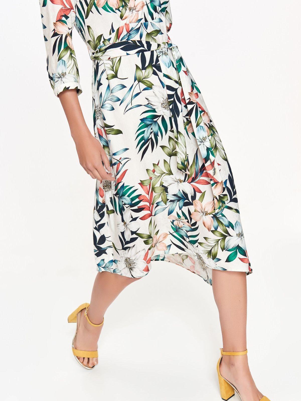 Sukienka Damska Biala Ssu2447 Sukienka Top Secret Odziezowy Sklep Internetowy Top Secret Fashion Floral Skirt Skirts