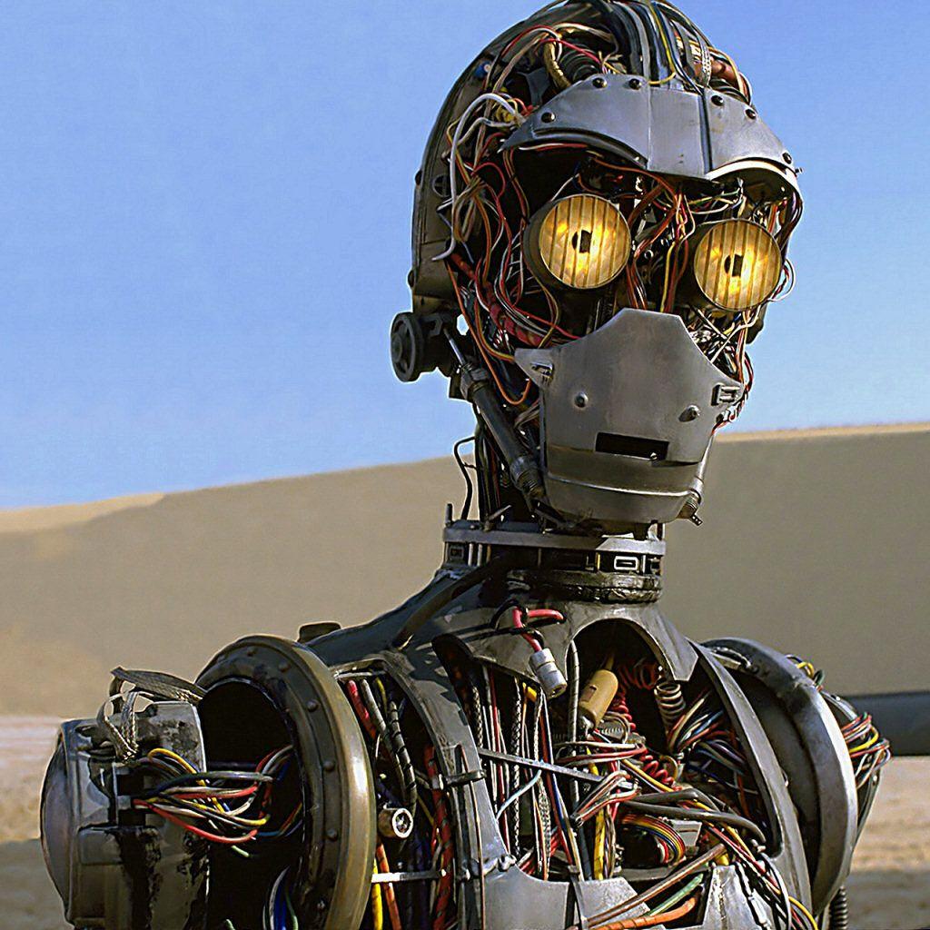 Star Wars Droids Droid Robot Robots C-3PO C3PO Sci-Fi Science Fiction Fantasy Phantom Menace Episode I