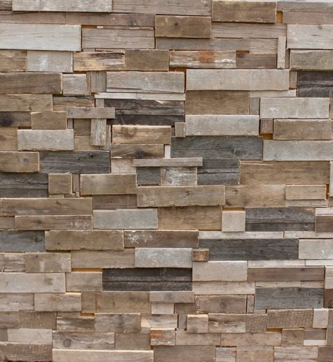 Decorative Driftwood Wall Panels A Clever Collage Of Real