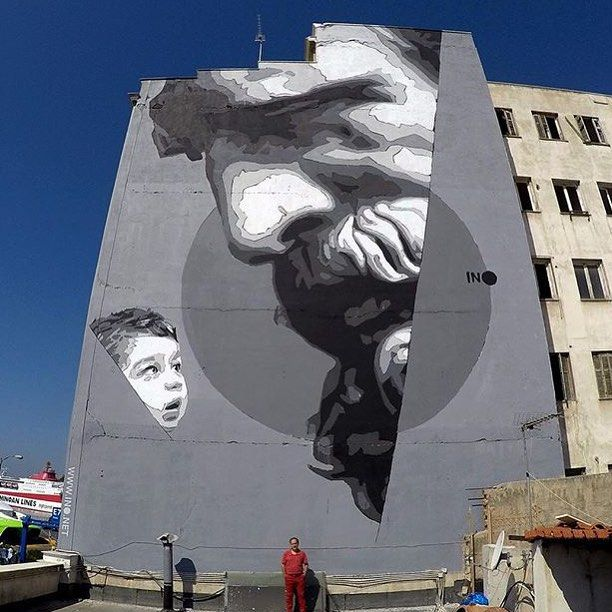 """""""We have the power"""" new work in Greece by @inocv together with National…"""
