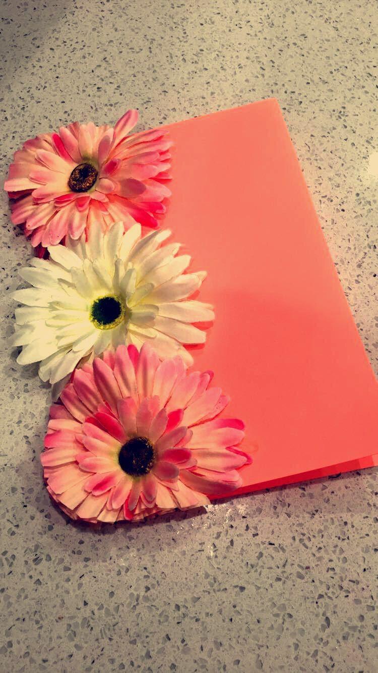 diy greeting card  flowers 🌺  greeting cards diy