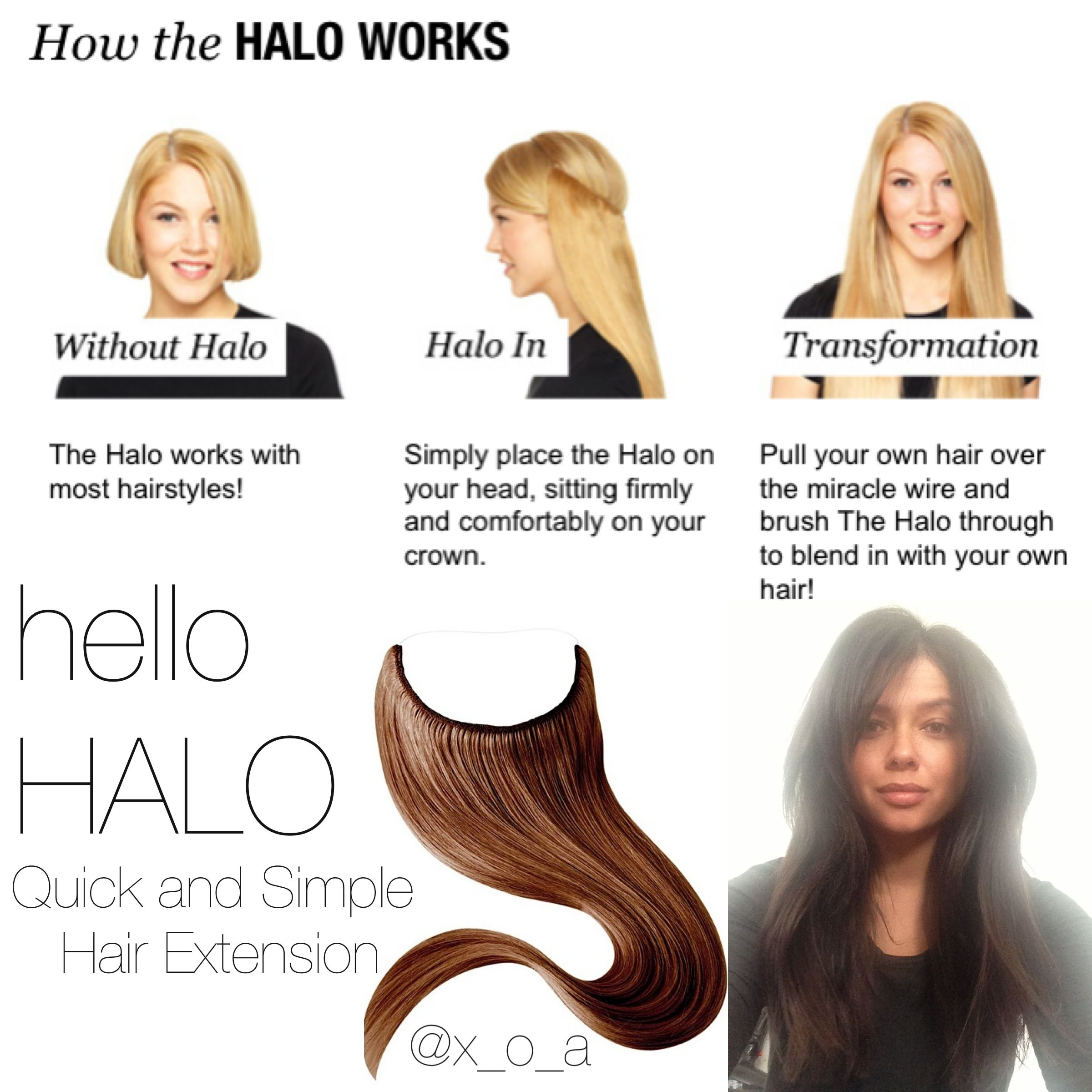 Halo style hair extensions best hairstyles 2017 ver 1 000 bilder om hair love p lockigt hr lnga halo hair extensions etsy pmusecretfo Image collections
