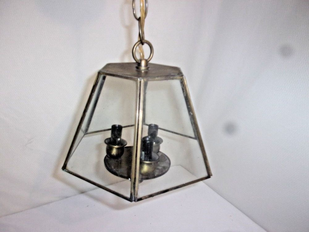 vintage hexagonal hanging porch light nice vintage and more