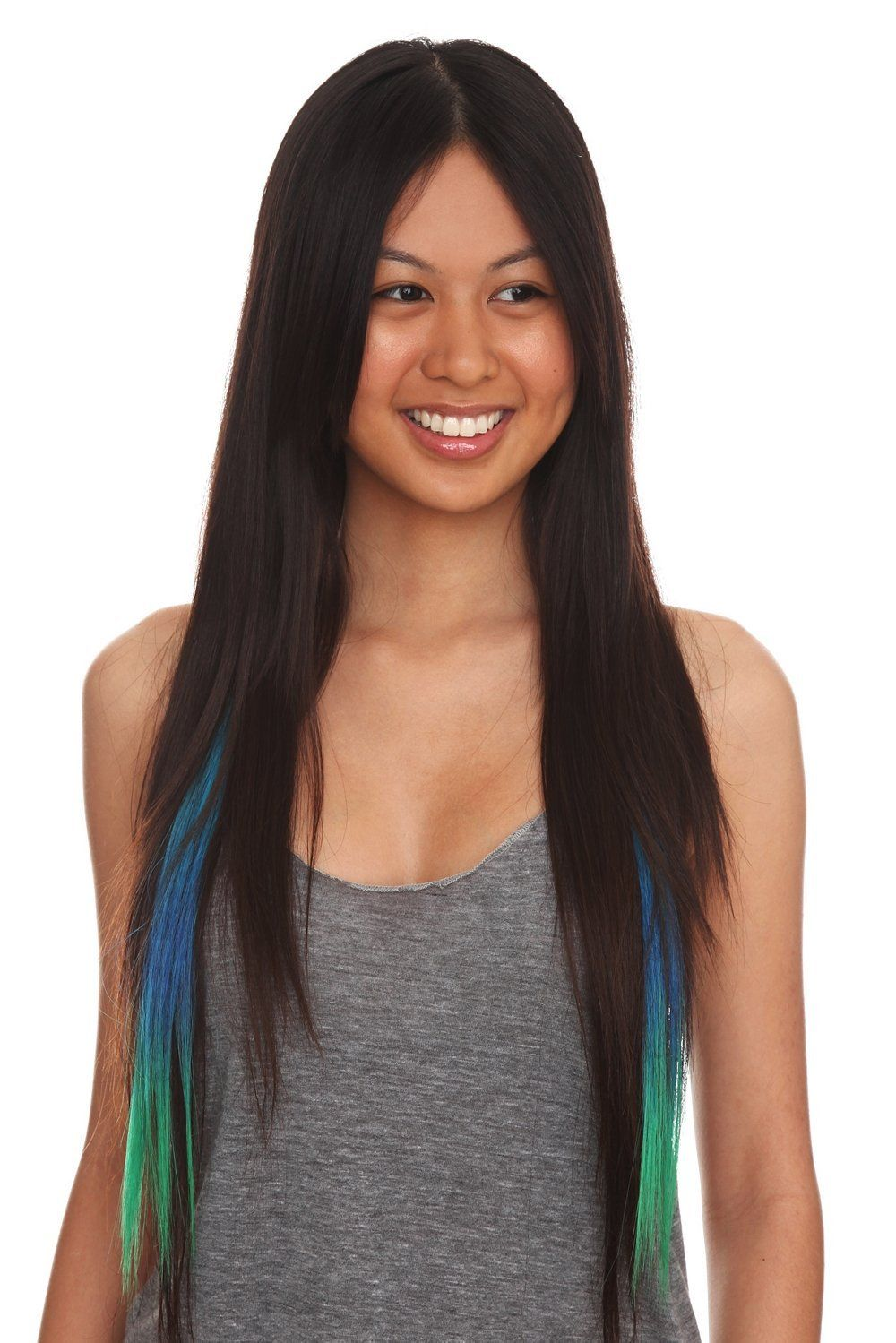 Color fiend turquoise ombre synthetic hair extensions 2 pack color fiend turquoise ombre synthetic hair extensions 2 pack hair extensions feather pmusecretfo Image collections