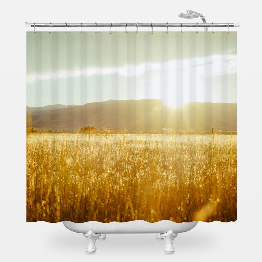Evening Sun Shower Curtain Shower Curtain Curtains Home Decor Inspiration