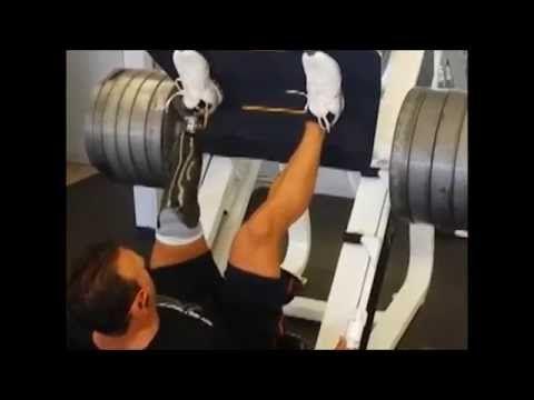 RUSH Foot Rebel James Massey - Extreme Weight Lifting with RUSH