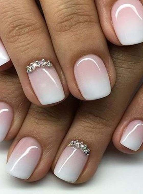 84 Stylish Nail Art Designs For Short Nails Nails Arts Design
