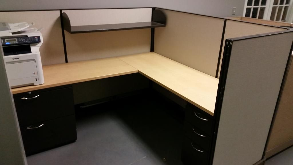 Herman Miller Used Office Cubicles In Boston Mid Height 1 Bbf