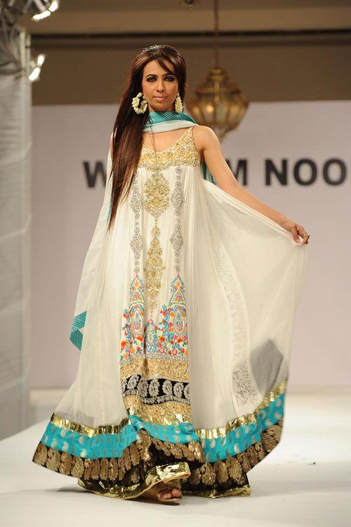 Pakistani Wedding Dresses | Latest Pakistani Designer - White ...