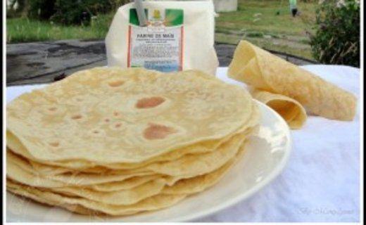 Recette de Tortillas aux farines de blé et maïs - i-Cook'in