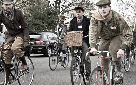 Tweed Run in London