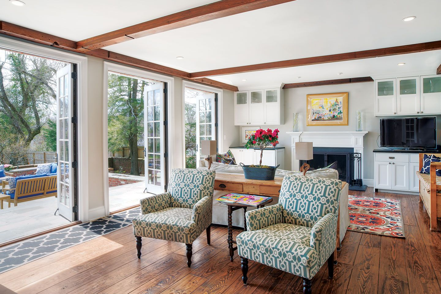 A historic Lookout Mountain, TN home was given a fresh