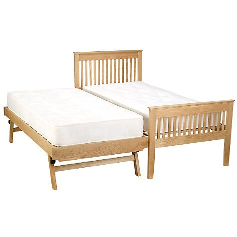 low priced 8f7ed ab137 John Lewis Riley Guest Bed, White   bed   Guest bed, Bed ...
