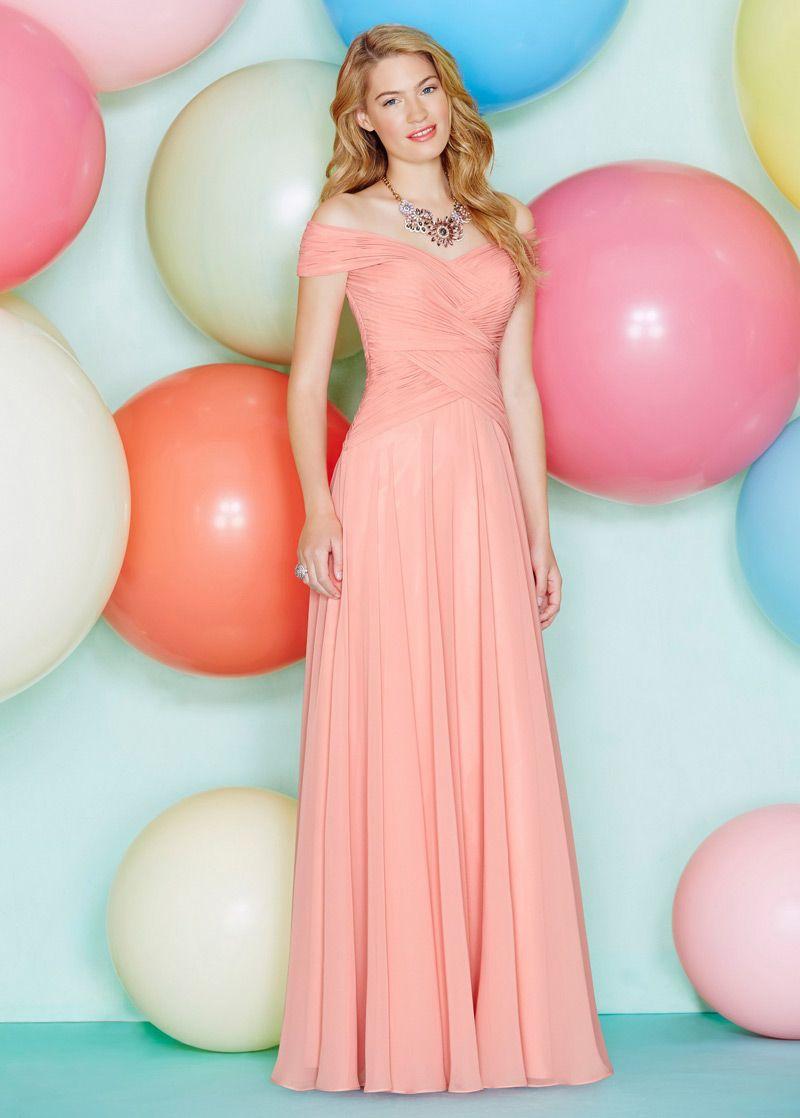 Buy discount Elegant Tulle Off-the-Shoulder Neckline Ball Gown ...