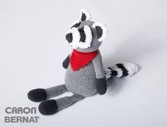 "Rocky Raccoon Amigurumi - Free English Pattern - PDF Format click ""Download Pattern"""