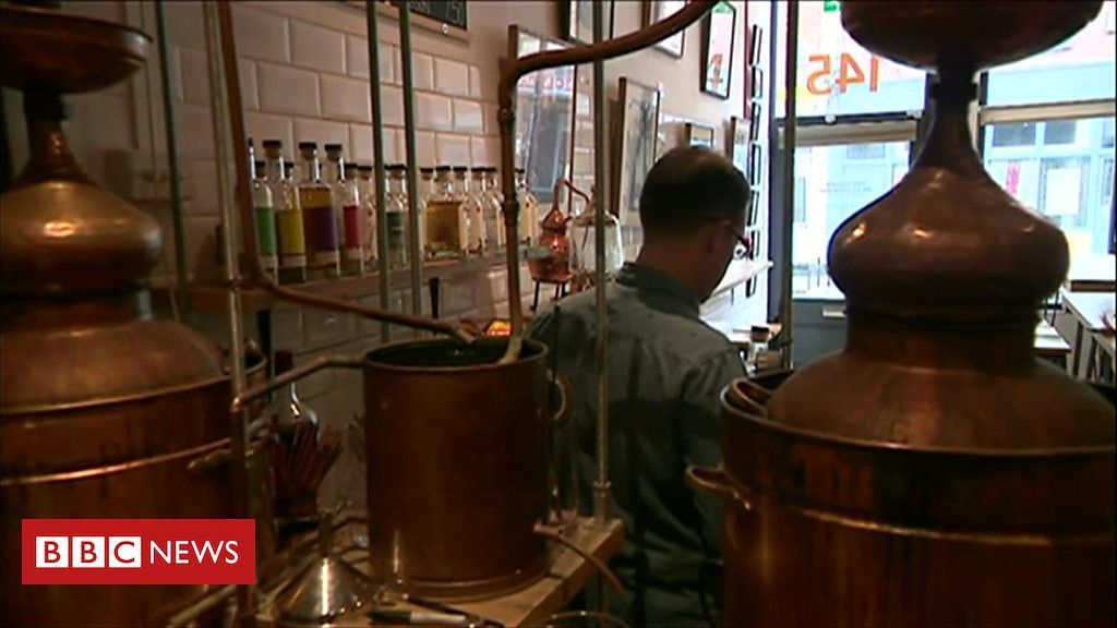 Gin Maker Switches To Hand Sanitiser Gin Distillery Hand