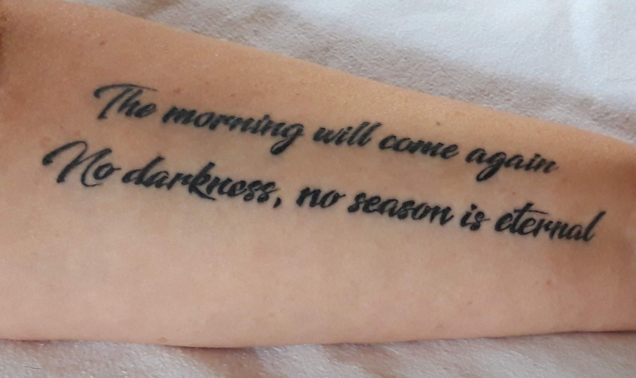 Bts spring day tattoo namjoon told us to use bts to love