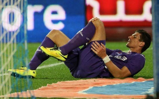 Fiorentina, per Mario Gomez altra tegola #gomez #infortunio #fiorentina