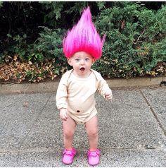 Image Result For Baby Troll Costume Poppy Halloween Costume, Baby Girl Halloween  Costumes, Toddler