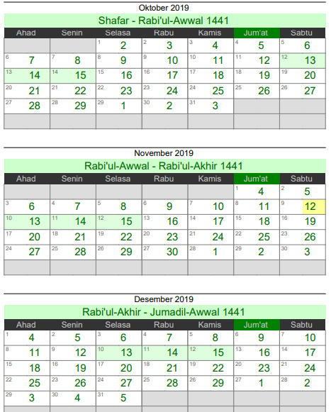 Kalender Hijriyah 1440 : kalender, hijriyah, Design, Kalender, Hijriah, Mulai, Safar, Kalender,, Islam,, Tanggal