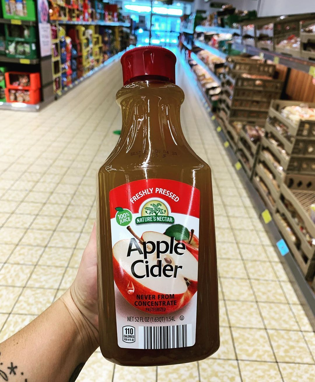 Freshly Pressed Apple Cider Add This To Your Cart Next Time You Re At Aldi And You Ll Be Ready For Fall In 2020 Fall Drinks Apple Cider Pressed Juice
