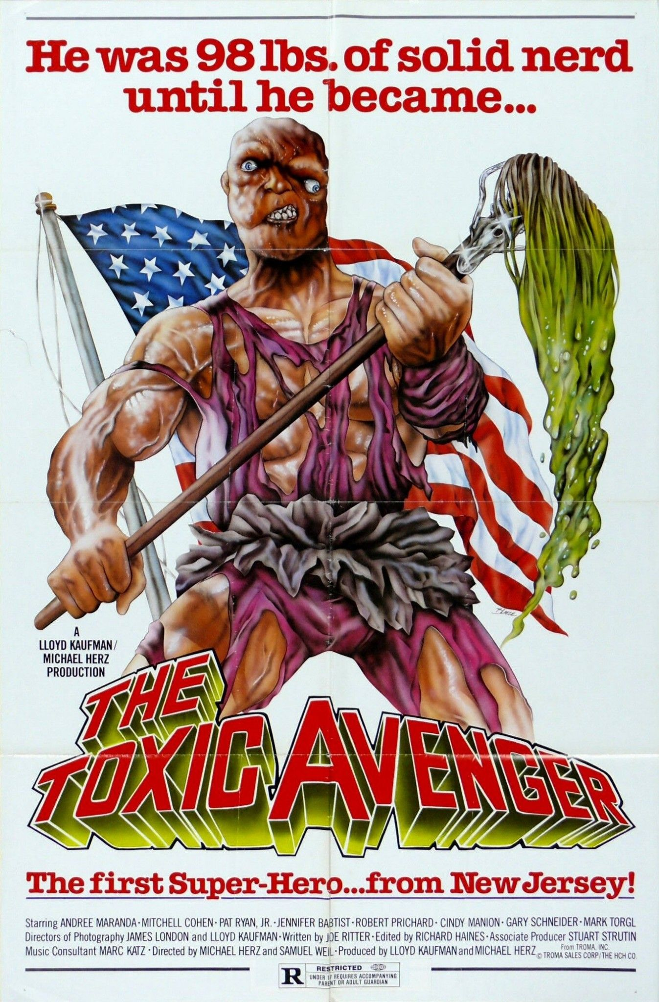 The Toxic Avenger 1986 Hd 1080p