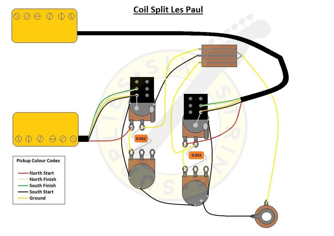 Coil Splitting A Les Paul