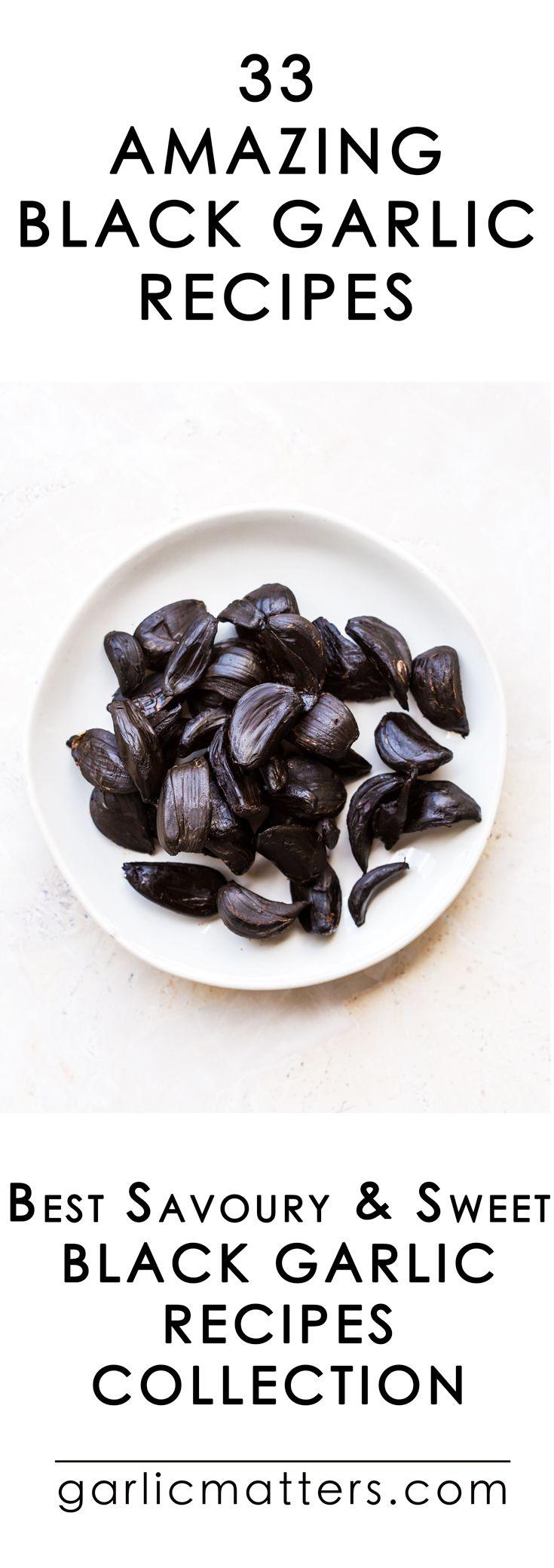 33 amazing black garlic recipes garlic matters garlic