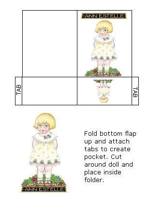 Ann Estelle Paper Doll