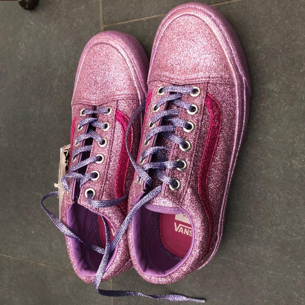 Vans Shoes | Vans X Opening Ceremony Glitter Og Old Skool Lx