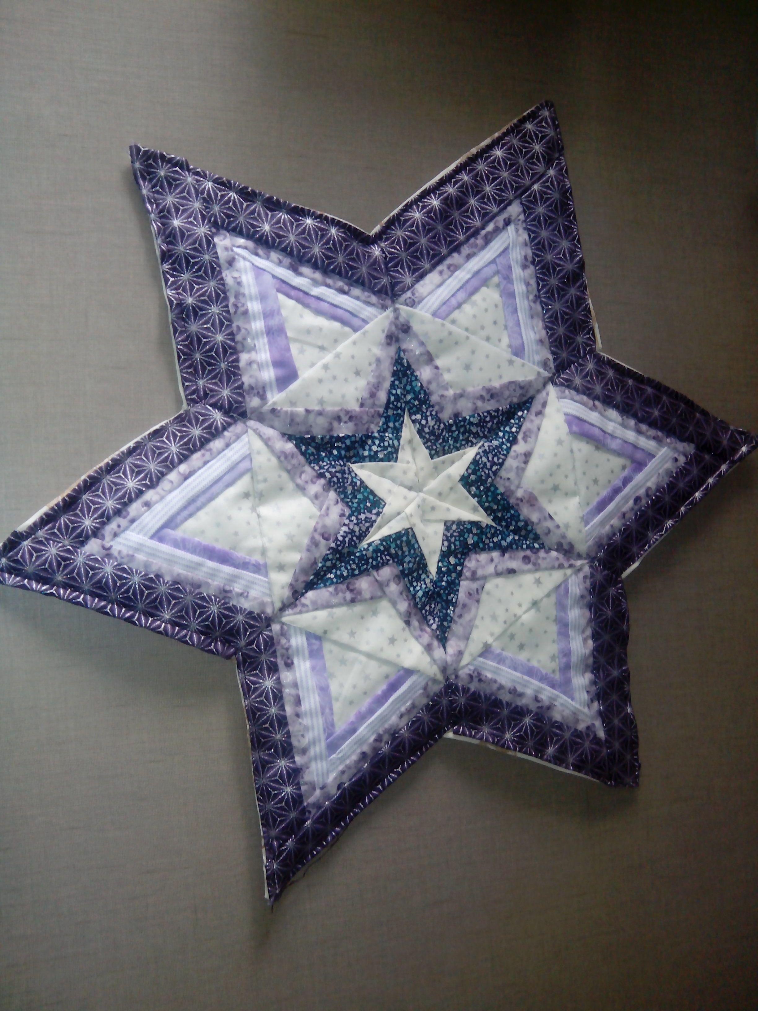 estrella Navidad Patchwork