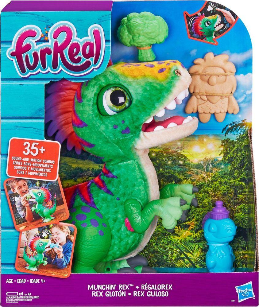 Furreal Munchin Rex Fur Real Friends Dino Pet Hot Toys