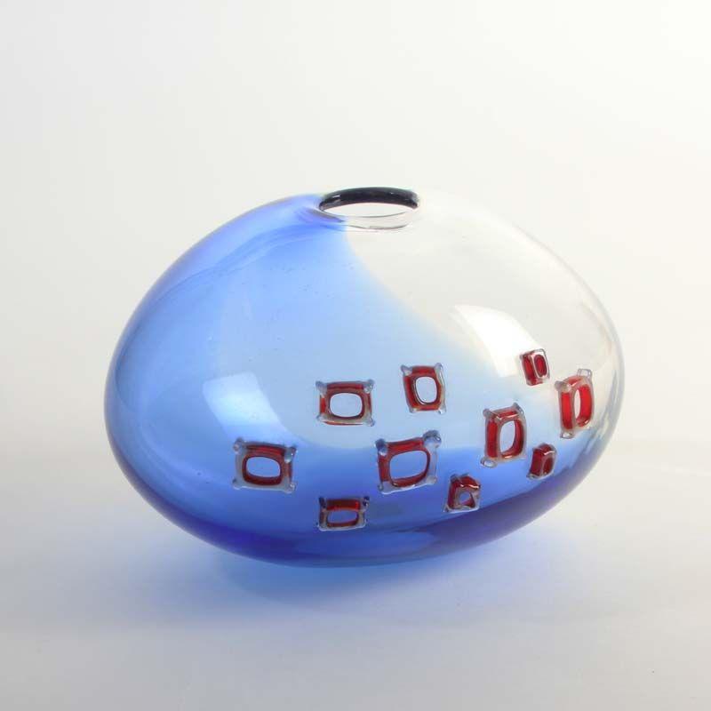 Alfredo Barbini Ad Agnelli Vase Signed And Collectable Murano