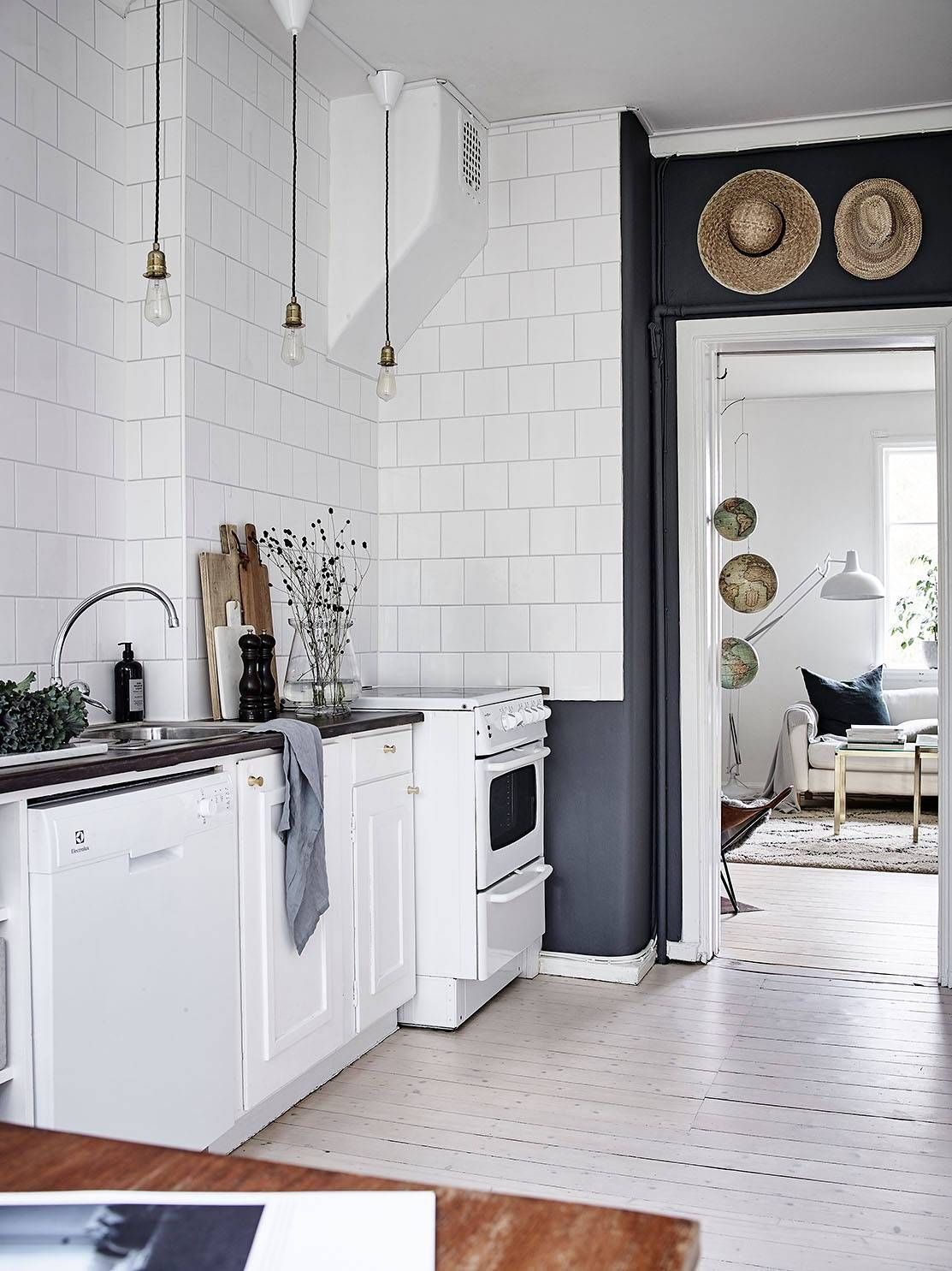Kitchen In Grey Interior Bistro Kitchen Kitchen Home Decor