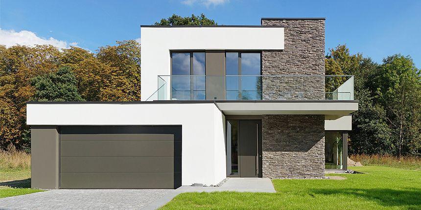 Moderne fassaden einfamilienhäuser  Pin von PM Consulting auf Archi | Pinterest