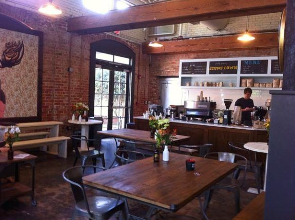 Videri Chocolate Factory in downtown Raleigh includes a coffee shop inside and some very decadent chocolates.
