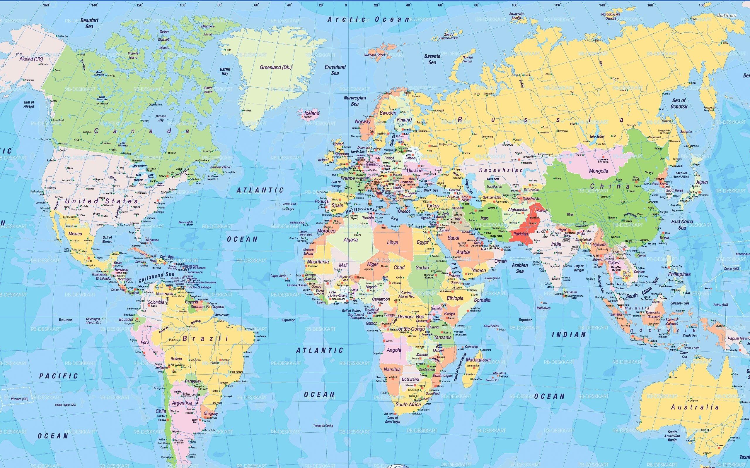 Digital World Map wallpaper United Nations 19/10/20113