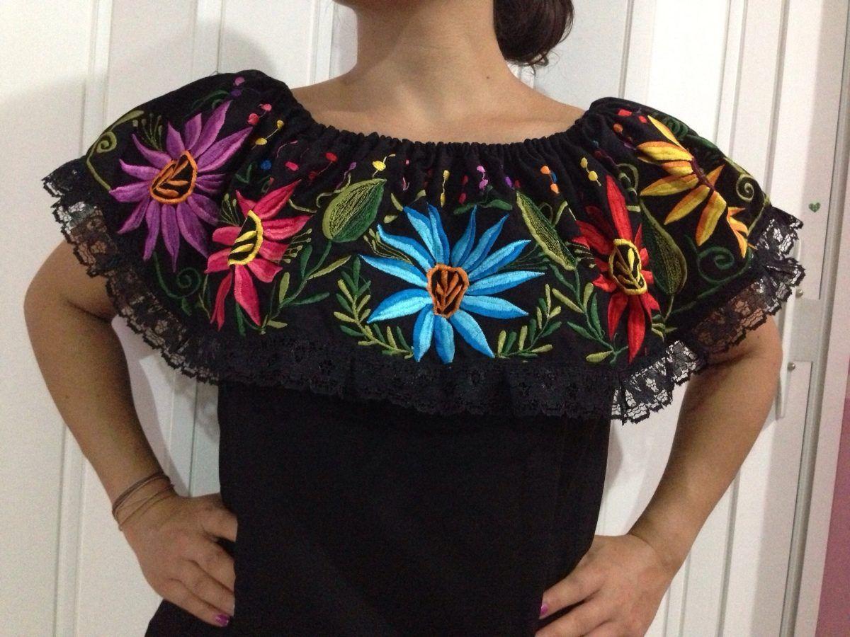 95721f13710a ropa mexicana | Ropa Típica Bordada Mexicana. Bordada X Mayas De ...