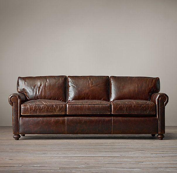 The Pee Lancaster Leather Sofas