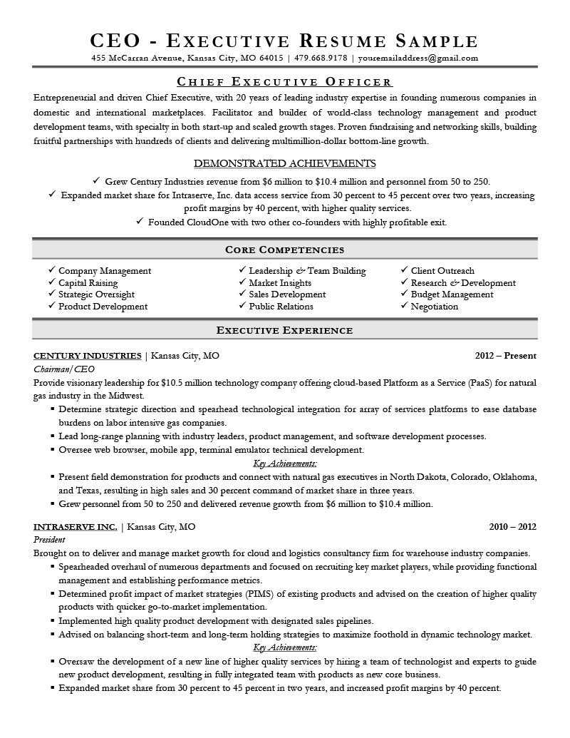Executive Resume Examples Writing Tips Ceo Cio Cto In Ceo Report To Board Of Directors Temp Executive Resume Professional Resume Examples Resume Examples