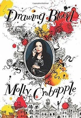 Drawing Blood by Molly Crabapple (Hardcover, 2016) SIGNED 1st edition, New