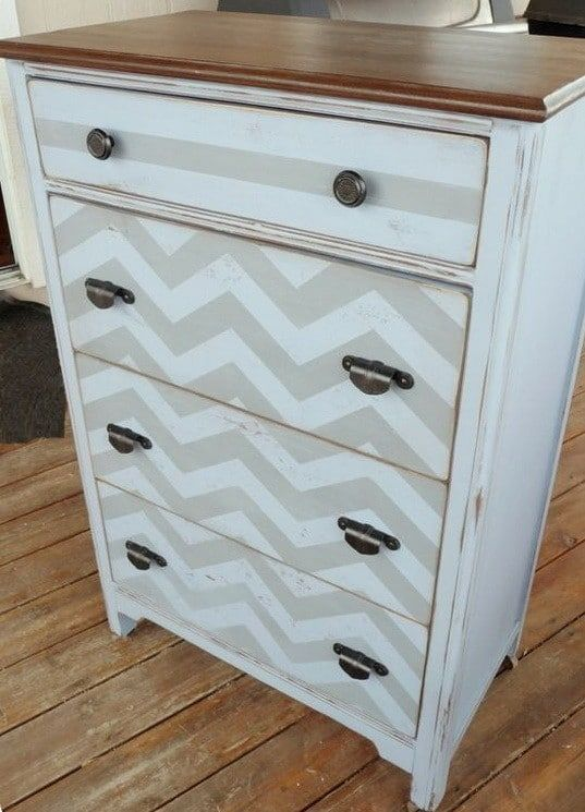 Easy Furniture Restoration Ideas Diy Refinishing Techniques Home Goods Decor Upcycle Dresser Furniture Projects