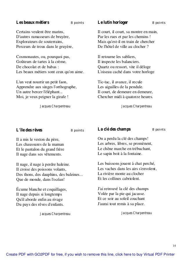 message de la ville en poesie jacques charpentreau