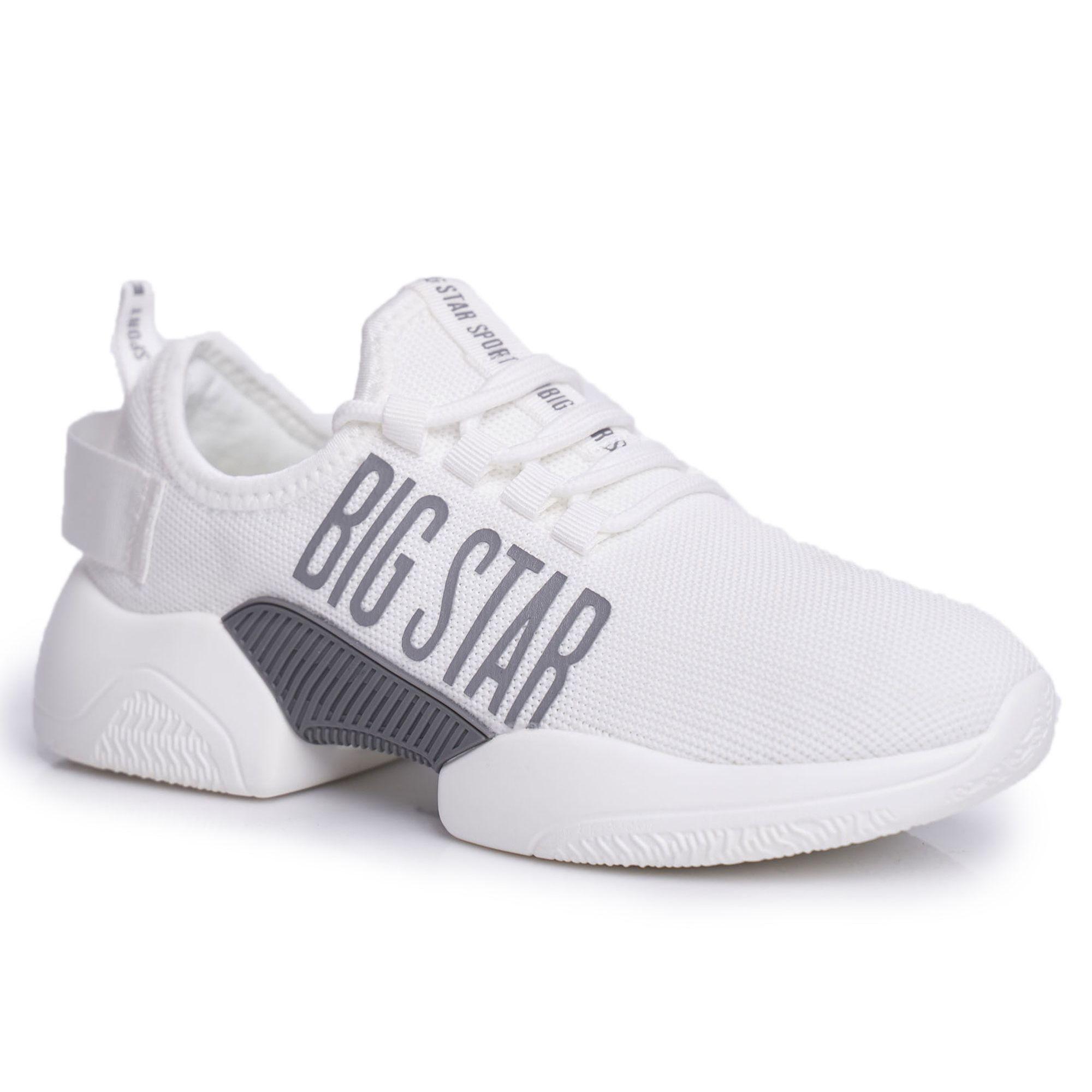 Damskie Sportowe Obuwie Big Star Biale Ff274282 Fashion Capri Pants Pants