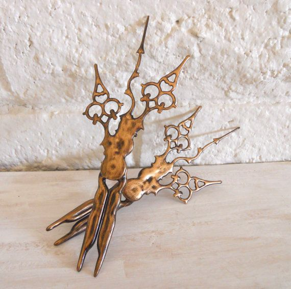 Clock Hand Hair Sticks Victorian Steampunk Styled by EJPcreations
